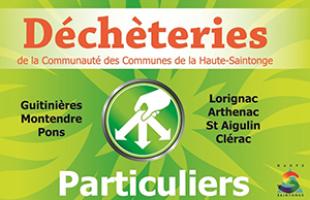 Déploiement des badges d'accès des déchèteries de la Haute-Saintonge pour les particuliers